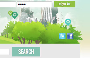 web design: lower north shore (Sydney, Australia) homepage, using Meeplace script